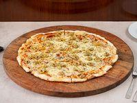 Pizzeta con muzza (42 cm ) + 1 gusto a elección