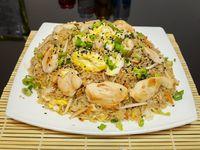 Chow fan de pollo