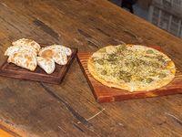 Promo 17 - 6 empanadas + pizza grande de muzzarella