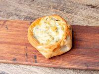 Empanada con roquefort