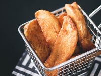 Papas fritas wedges