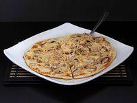 Pizza Pollo con Champiñones