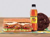 Combo Sándwich Cerdo BBQ 15 cm