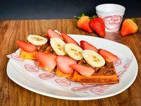 Waffle Rojo Crema