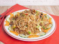 97 - Fideos de arroz con vegetales