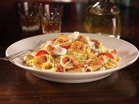 Cajun shrimp and chicken pasta