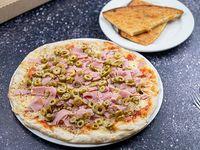 Promo - Pizzeta 32 cm con dos gustos a elección + un fainá
