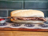 Sándwich de churrasquito solo