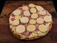 Pizzeta tropical