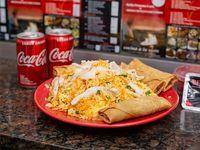Combo - Arroz con pollo + 4 arrolladitos o 2 Coca Cola mini