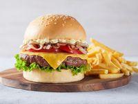Burger Magnifica + Fritas