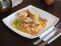 Lasagna + Gaseosa