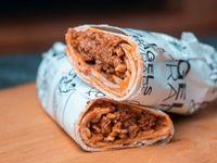 Burrito de carne picante