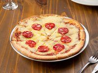 Pizzeta con peperoni