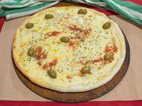 Pizza con muzzarella (grande)