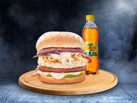 Hamburguesa Súper + Refresco 400 ml