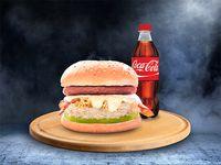 Hamburguesa Especial + Refresco 400 ml