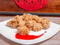 Bolitas de pollo en tempura (10 unidades)