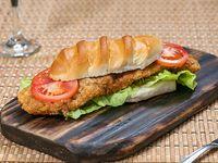 Milanesa de pescado al pan