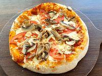 Pizza con champignon (30 cm)