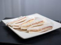 Sándwich frío jamón y queso