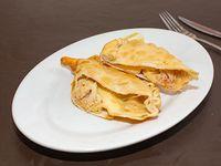 Empanada de queso y jaiba