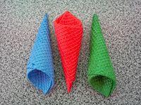 Cucuruchos de colores  (unidad)