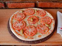 Pizza a la piedra napolitana