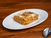 Carrot Cake Individual con nueces