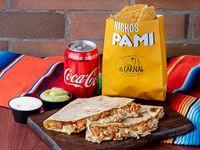 La Gringa Con Carne + Nachos Pa'mi + Bebida