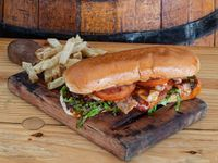 Sándwich Chicken Broaster