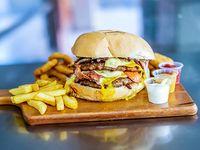 Armá tu hamburguesa! + acompañamiento