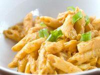 Pastas con Pollo al Curry (No Picante) en Leche de Coco