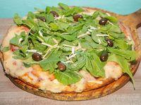 Pizzza con rúcula