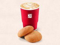 Combo Para 2: 2 Cappuccinos + 2 Almojábanas