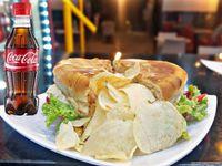 Sandwich + Gaseosa 250 ml