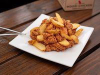 Caja Regular - Pollo frito crispy bañado en salsa Woori dulce picante