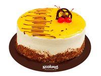 Torta Maracuyá 1 Lb (25 - 30 Porciones)