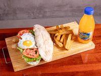 Promo - sándwich de milanesa + bebida levite