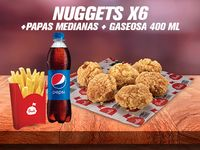 Combo Nuggets x6