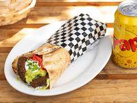 Shawarma Italiano + bebida lata 330 ml