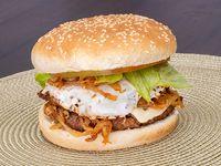 Burger Ranchera de Carne