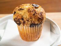 Muffin artesanal de amapola y zanahoria
