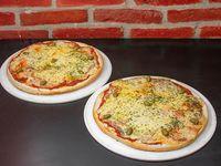 Promo - 2 pizzas muzzarella
