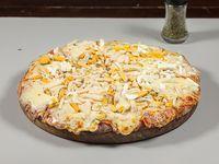 Pizzeta muzzarella con un gusto