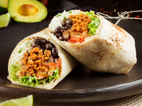 Burrito de Carne Desmechada