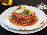 Lasagna vegetariana sin gluten
