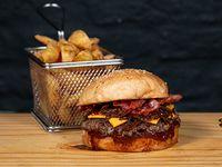 Combo - Pérez burger + acompañamiento