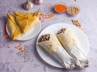 2 Shawarmas de carne o pollo + 2 fatay