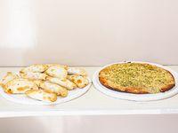 Promo - Pizza + docena de empanadas